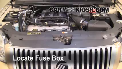 replace a fuse 2008 2009 ford taurus 2008 ford taurus sel 3 5l v6