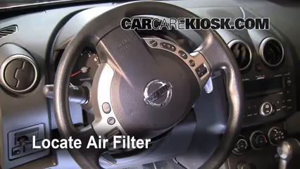 2008-2013 Nissan Rogue Cabin Air Filter Check - 2008 ...