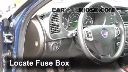 2008 Saab 9 3 2.0T 2.0L 4 Cyl. Turbo Wagon %284 Door%29%2FFuse Interior Part 1 coolant flush how to saab 9 3 (2008 2011) 2008 saab 9 3 2 0t 2006 saab 93 fuse box diagram at couponss.co