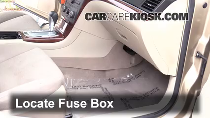 Interior Fuse Box Location 2007 2009 Saturn Aura 2008