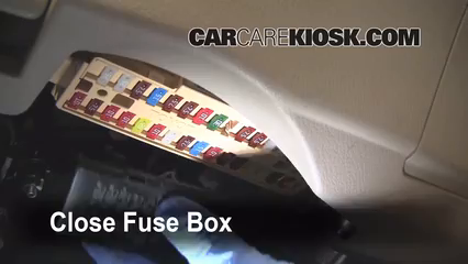 interior fuse box location 2007 2011 toyota camry 2008. Black Bedroom Furniture Sets. Home Design Ideas