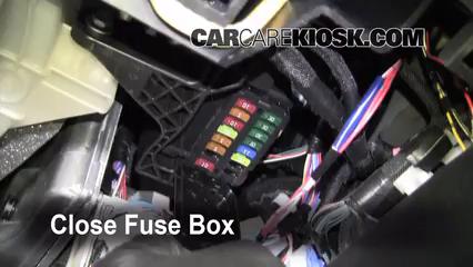 Interior Fuse Box Location 2008 2014 Toyota Land Cruiser