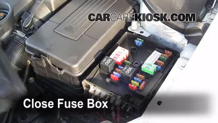 replace a fuse volkswagen rabbit volkswagen 6 replace cover secure the cover and test component