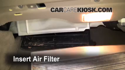 Cabin Filter Replacement: Volvo XC90 2003-2014 - 2008 ...