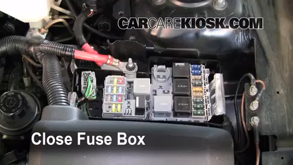 replace a fuse 2003 2014 volvo xc90 2005 volvo xc90 v8 4 4l v8 6 replace cover secure the cover and test component