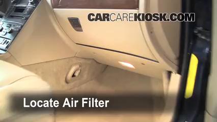 2003-2014 Volvo XC90 Cabin Air Filter Check - 2008 Volvo ...