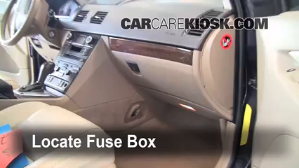 Interior Fuse Box Location 2003 2013 Volvo Xc90 2008