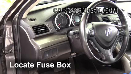 interior fuse box location 2009 2014 acura tsx 2010 acura tsx interior fuse box location 2009 2014 acura tsx 2010 acura tsx 2 4l 4 cyl
