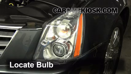 Headlight Change 2006 2011 Cadillac Dts 2007 Cadillac