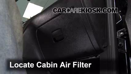 cabin filter replacement chevrolet hhr 2006 2011 2009. Black Bedroom Furniture Sets. Home Design Ideas