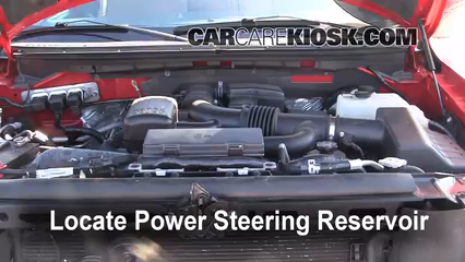 how to change power steering fluid in 1997 ford f150
