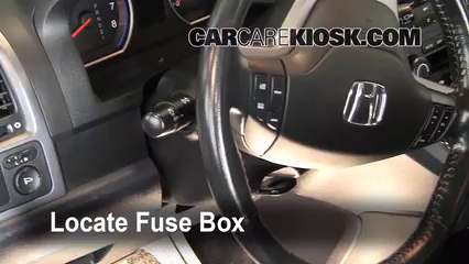 Interior fuse box location 2007 2011 honda cr v 2009 for 2000 honda crv power window problems