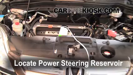 Follow These Steps to Add Power Steering Fluid to a    Honda    CRV     2007   2011   2009    Honda    CRV EX