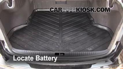 Battery Replacement  2009-2014 Hyundai Genesis