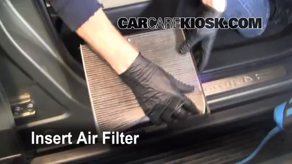 Cabin Filter Replacement: Hyundai Santa Fe 2007-2012 ...