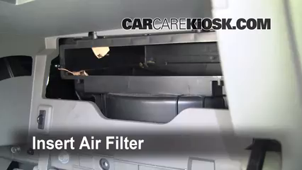 2006 2010 Hyundai Sonata Cabin Air Filter Check 2009