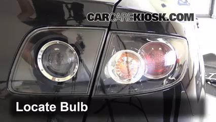 how to change sidelight bulb on mazda 6 2008
