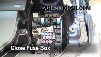 replace a fuse: 2006-2010 mazda 5 - 2009 mazda 5 sport 2 ... mazda 5 fuse box location