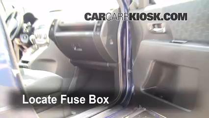 Interior Fuse Box Location: 2006-2010 Mazda 5 - 2009 Mazda 5 Sport ...