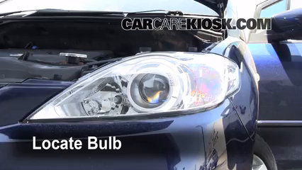 headlight change 2006 2010 mazda 5 2008 mazda 5 sport 2 3l 4 cyl 4 remove bulb steps to remove a burnt out bulb 5