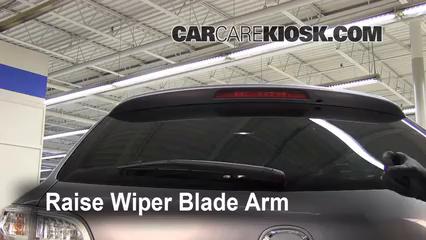 rear wiper blade change mazda cx 9 2007 2015 2009. Black Bedroom Furniture Sets. Home Design Ideas