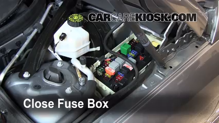 replace a fuse mercedes benz c mercedes benz 6 replace cover secure the cover and test component