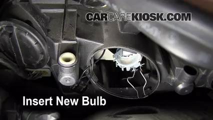 Headlight change 2008 2015 mercedes benz c300 2009 for Mercedes benz light bulb replacement