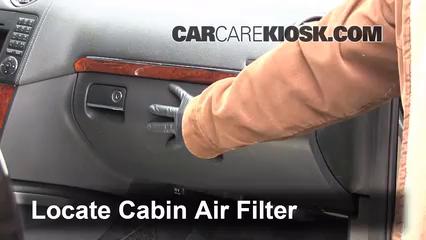 Cabin Filter Replacement Mercedes Benz Gl450 2007 2012