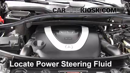 Fix power steering leaks mercedes benz gl450 2007 2012 for Mercedes benz ml320 power steering fluid