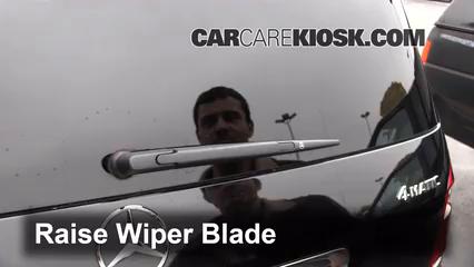 Rear Wiper Blade Change Mercedes Benz Gl450 2007 2012