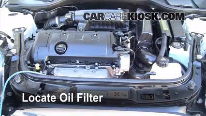 Mini Cooper Clubman L Cyl Foil Filter on 2013 Mini Cooper Oil Drain Plug Location