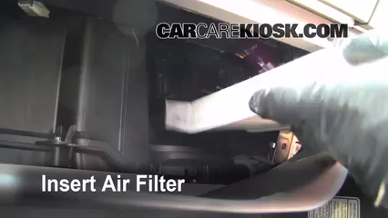 Cabin Filter Replacement Nissan Frontier 2005 2016 2009