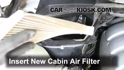 Cabin Filter Replacement Pontiac G8 2008 2009 2009