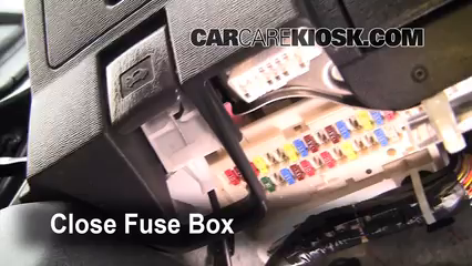 Interior Fuse Box Location: 2005-2010 Scion tC - 2010 ...