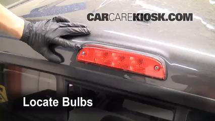 Sylvania Car Bulbs >> Third Brake Light Bulb Change Toyota Tacoma (2005-2013) - 2009 Toyota Tacoma Pre Runner 4.0L V6 ...