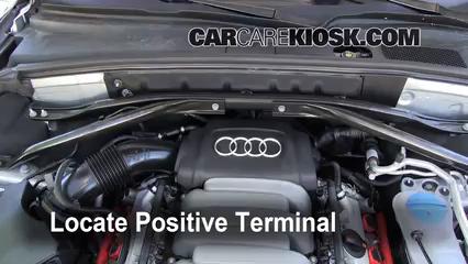 How to Jumpstart a 2009-2016 Audi Q5 - 2010 Audi Q5 Premium 3.2L V6
