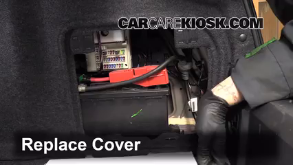 how to change 2011 cadillac srx battery replacement