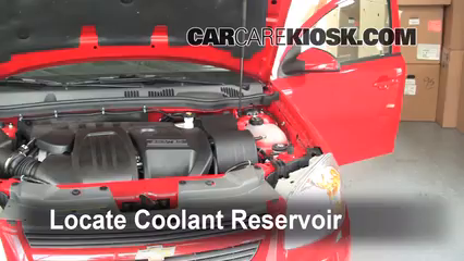 How to Add Coolant Chevrolet Cobalt 20052010  2010 Chevrolet