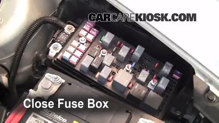replace a fuse chevrolet bu chevrolet bu 6 replace cover secure the cover and test component