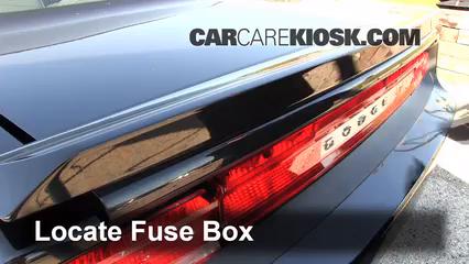 Interior Fuse Box Location 2008 2016 Dodge Challenger