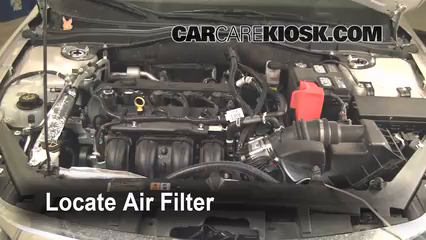 Air Filter HowTo 20102012 Ford Fusion  2010 Ford Fusion SE 25