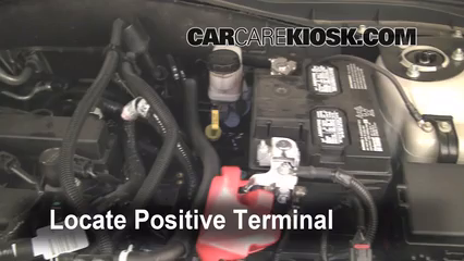 How to Jumpstart a 2010-2012 Ford Fusion - 2010 Ford Fusion SE 2.5L 4 Cyl. & How to Jumpstart a 2010-2012 Ford Fusion - 2010 Ford Fusion SE 2.5 ... markmcfarlin.com