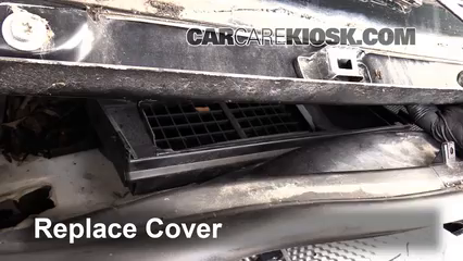 how to change cabin filter mazda 3 2013