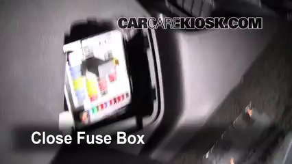 Interior Fuse Box Location 2010 2016 Gmc Terrain 2010