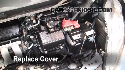 How to Jumpstart a 2009-2013 Honda Fit - 2010 Honda Fit ...