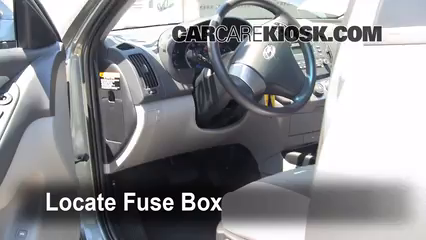 interior fuse box location 2007 2012 hyundai elantra. Black Bedroom Furniture Sets. Home Design Ideas