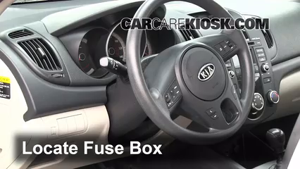 interior fuse box location 2010 2013 kia forte 2010 kia forte interior fuse box location 2010 2013 kia forte 2010 kia forte ex 2 0l 4 cyl coupe 2 door