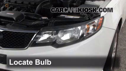 headlight change 2010 2013 kia forte 2010 kia forte ex 2. Black Bedroom Furniture Sets. Home Design Ideas