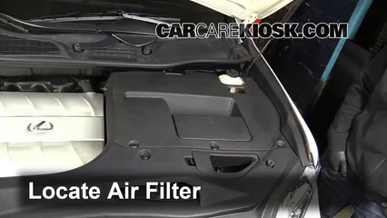 how to change engine air filter