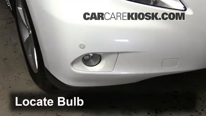 how to change fog light bulb 2010 lexus es350